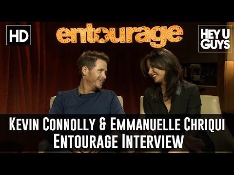 Kevin Connolly & Emmanuelle Chriqui Exclusive   Entourage the movie