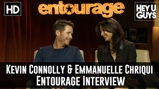 Kevin Connolly & Emmanuelle Chriqui Exclusive Interview - Entourage the movie