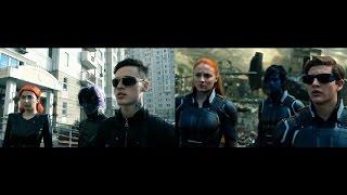 Люди Икс: Апокалипсис - пародия и оригинал