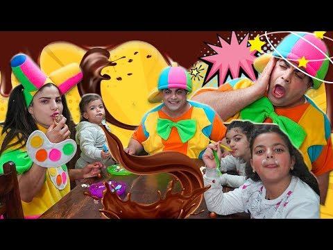 علوش ومروش - علوش يسرق الكعك - aloush maroush aloush stealing cakes