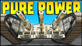 Crossout - PURE POWER! Community Creations - Cannons, AGS, Incinerator Catapults & More!