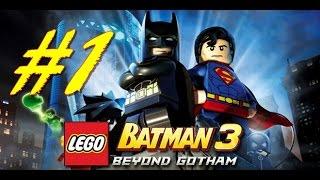 LEGO Batman 3 Beyond Gotham Gameplay Walkthrough Part 1 PS3 HD