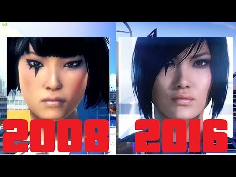 Mirror's Edge vs Mirror's Edge Catalyst (2008 - 2016)