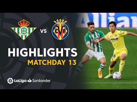 Betis Villarreal Goals And Highlights