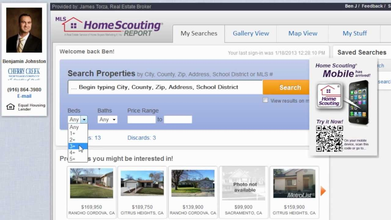 Free property search find homes for sale in sacramento ca for Free home search