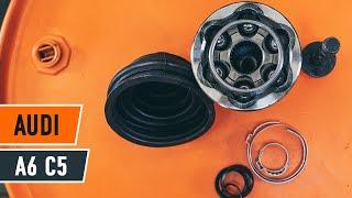 Údržba Audi A6 4f - video tutoriál
