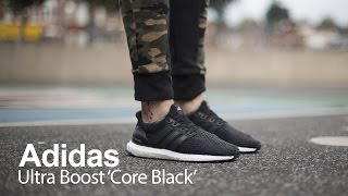 review   adidas ultra boost core black