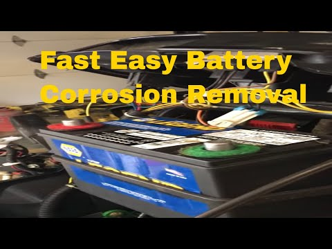 How to remove battery corrosion fast and how to keep corrosion from returning