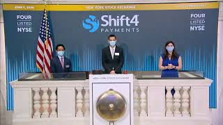 The new york stock exchange welcomes shift4 payments, inc. (nyse: four) in celebration of its ipo. to honor occasion, jared isaacman, chief executive off...