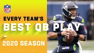 Every Team's Best Play by a QB | NFL 2020 Highlights