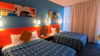 Cabana Bay Resort Room Tour - Universal Studios Orlando Florida