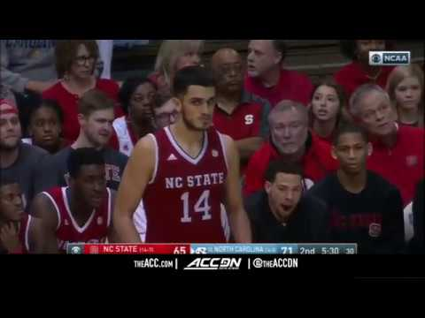 North Carolina State vs North Carolina College Basketball Condensed Game 2018