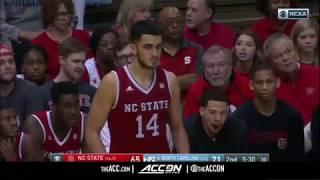 North Carolina State vs North Carolina College Basketball Condensed Game 2018