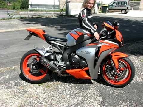 Honda Cbr 1000 Rr Fireblade Orange Repsol Argent Gris