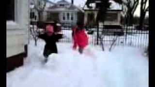 Historic snow in chicago illinois.usa