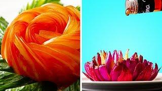 16 CREATIVE FOOD CARVING IDEAS