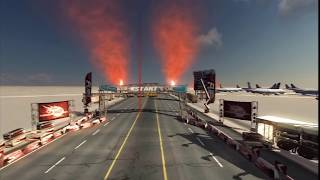 FUEL HD multi-terrain action racing HD video game trailer - PS3 X360 PC
