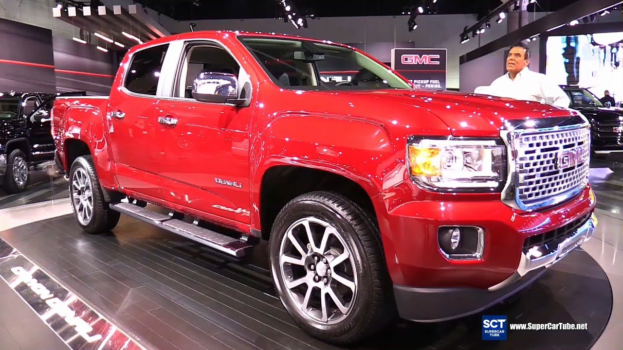 2017 Gmc Canyon Denali Unveiled Exterior And Interior Walkaround La Auto Show You