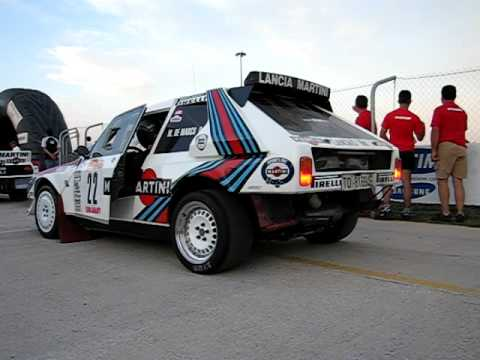 lancia delta s4 martini engine sound - youtube