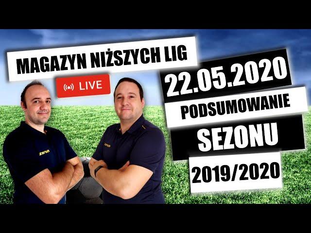 MNL - 22.05.2020 - Podsumowanie sezonu 2019/2020 w niższych ligach łódzkich