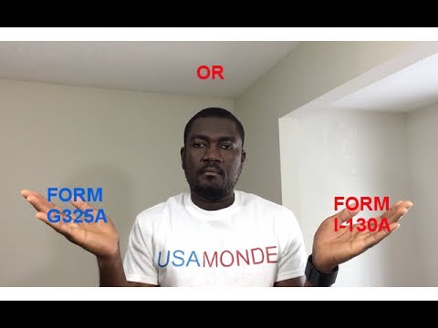 Update For G325a Form I 130a Youtube