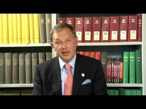 La textura constitucional -  Prof. Herdegen sprach in Bogota