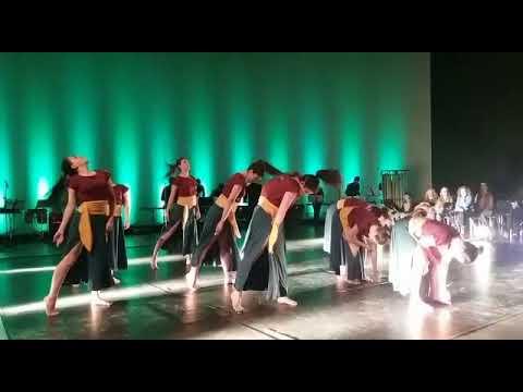 El Grupo de Danza Contemporánea del Conservatorio de Danza de Lugo actúa en el MIHL