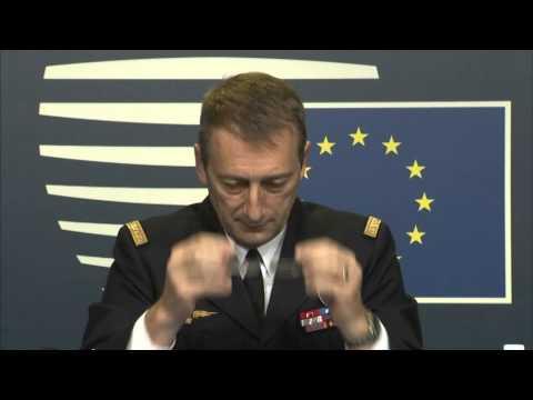 Conferenza stampa del generale Patrick de ROUSIERS, Presidente del Comitato militare UE