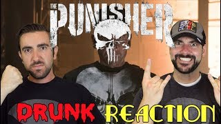 The Punisher - Drunk Trailer Reaction and Review