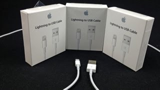 Apple Lightning to USB Cable: First Look