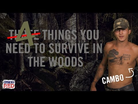 Cambo's 4 Survival Essentials for the Woods
