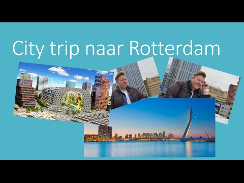 City trip Rotterdam