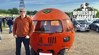 Edd China's Workshop Diaries Episode 6 (Outspan Orange Part 1 & Electric Ice Cream Van Part 4)