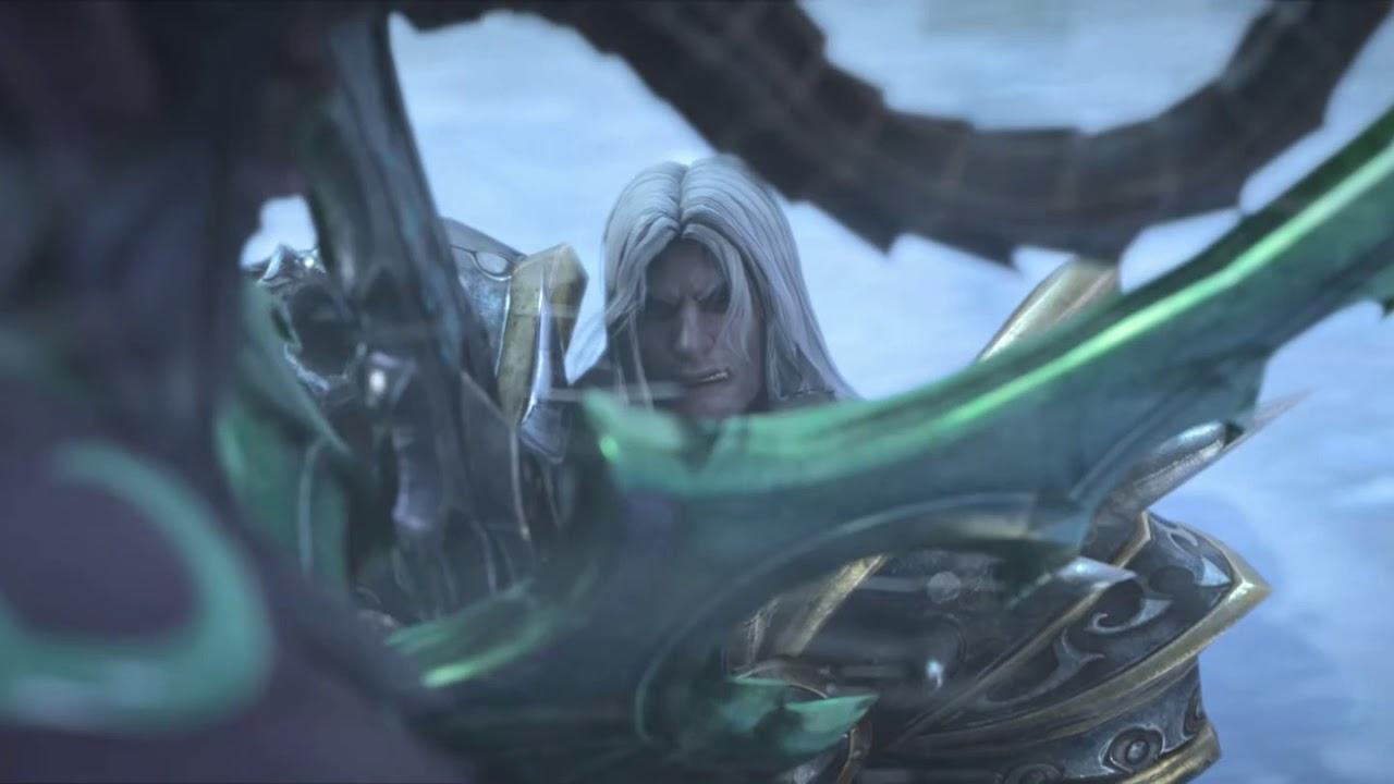 Arthas Vs Illidan Cinematic Warcraft Iii Reforged Youtube