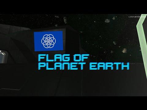 "Interstellar Rift! ""The Flag of Earth"""