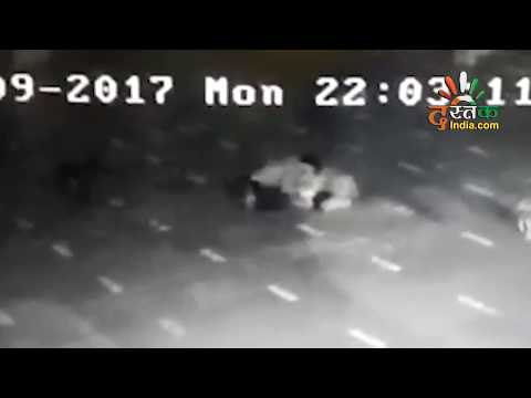 Gangrape in the temple with the woman approaching to be seen, recorded in captivity in CCTV