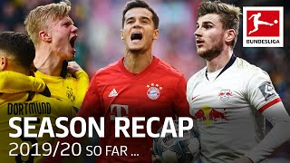 The Story of the Bundesliga Season 2019/20 - What Happened So Far
