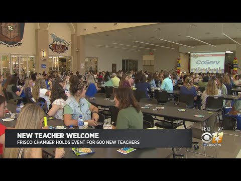 Frisco ISD Welcomes Hundreds Of Teachers Ahead Of New School Year