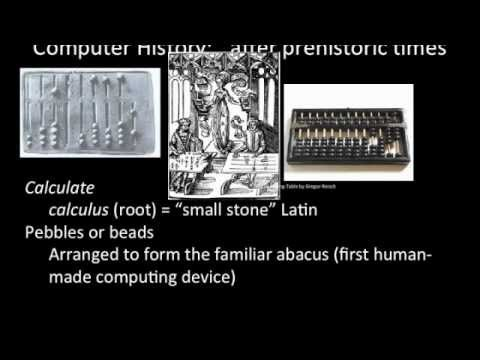 History of computer hardware for INFOTE