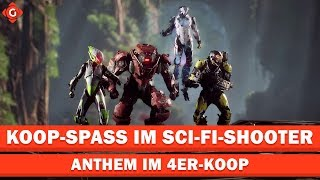 Anthem: Koop-Spass im Sci-Fi-Shooter | Zocksession