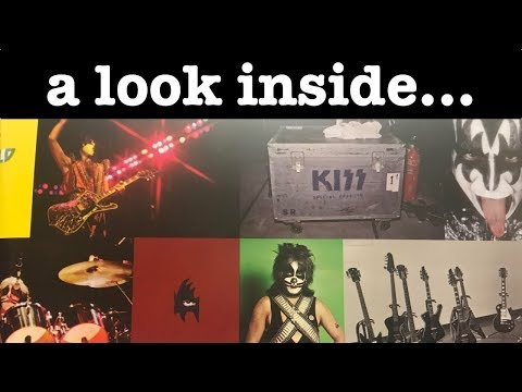 A Look at the KISS 1977 - 1980 Book #kimchichrisstyle
