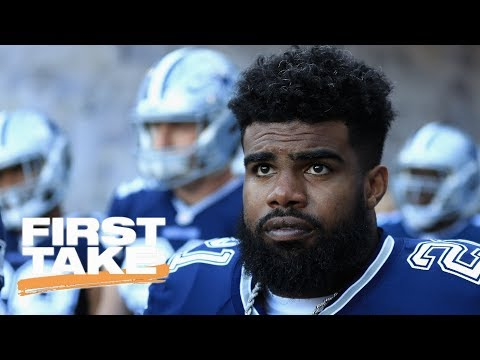 First Take Debates Ezekiel Elliott Investigation | First Take | ESPN