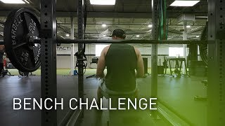 OpTic Strength: BENCH CHALLENGE!