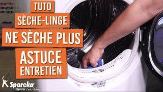 Astuce lorsque votre sèche linge ne sèche plus