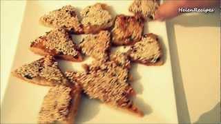 Banh mi chien tom - Shrimp toast (Christmas recipe)