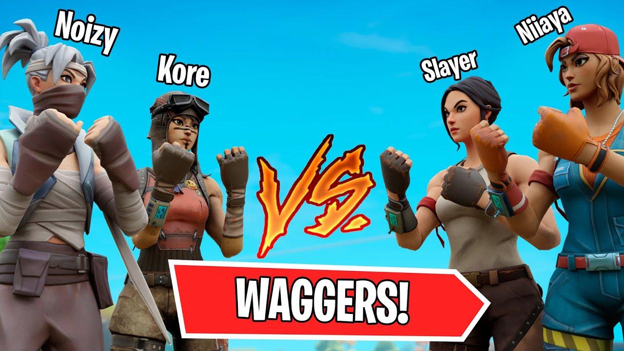 "Slayer & Niiaya VS Kore & Noizy ""WAGERS"""