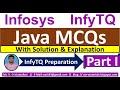 Gambar cover InfyTQ Java MCQs | Java MCQs for InfyTQ exam Preparation | Java MCQs Solution & Explanation | Part-1