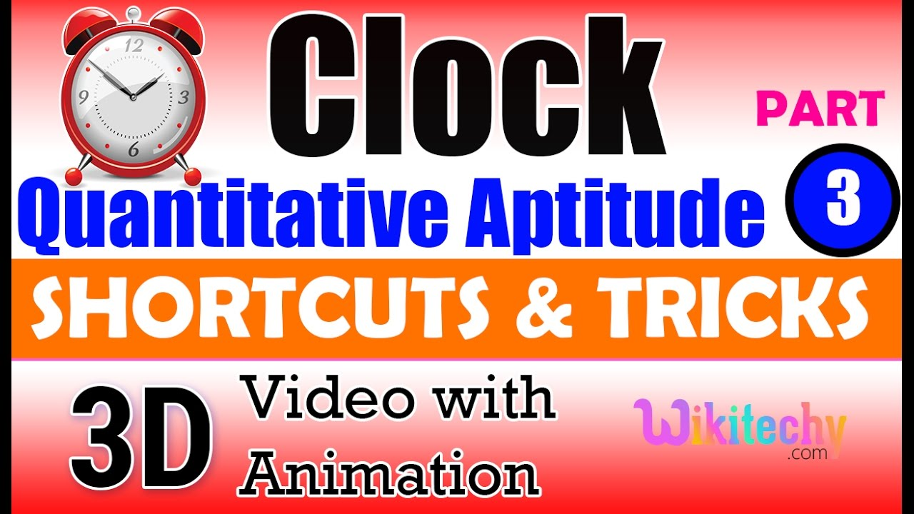 clock 3 aptitude test preparation tricks online videos lectures clock 3 aptitude test preparation tricks online videos lectures preparation tips