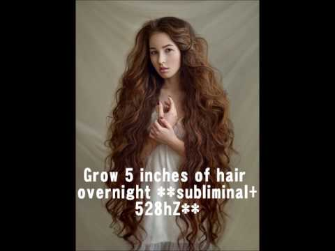 grow-5-inches-of-hair-overnight-!!100%-guaranteed!!-**affirmations-+-528hz-frequency**