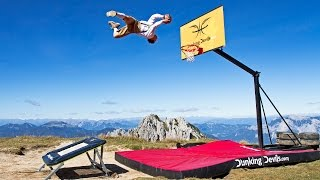 Taking Basketball Freestyle Dunks to Extreme Heights